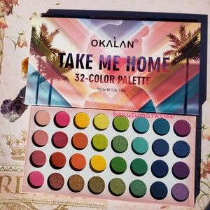 TAKE ME HOME 32 Color Palette by Okalan
